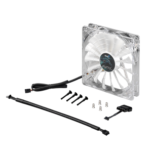 AEROCOOL SHARK FAN 14CM WHITE