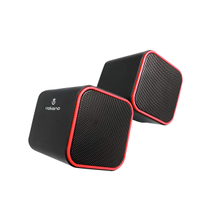 VOLKANO DIAMOND SERIES USB SPEAKER - RED