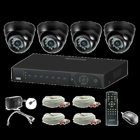 4 Channel DVR CCTV Kit