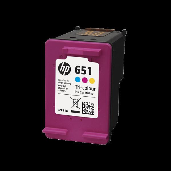 HP 651 TRI COLOUR CARTRIDGES