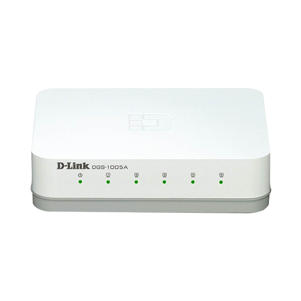 D-LINK DGS-1005A 5-PORT GIGABIT UNMANAGED SWITCH