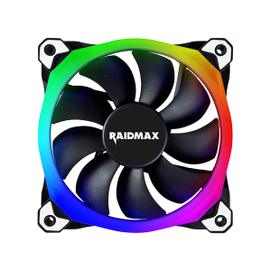 RAIDMAX 120MM CHROMA RGB LED FAN