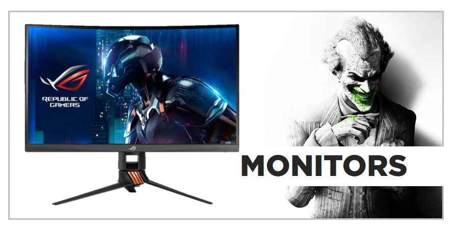 Asus PC Gaming Monitors