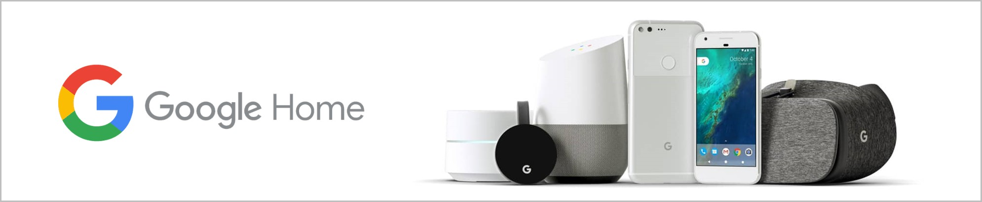 Google Home Product banner