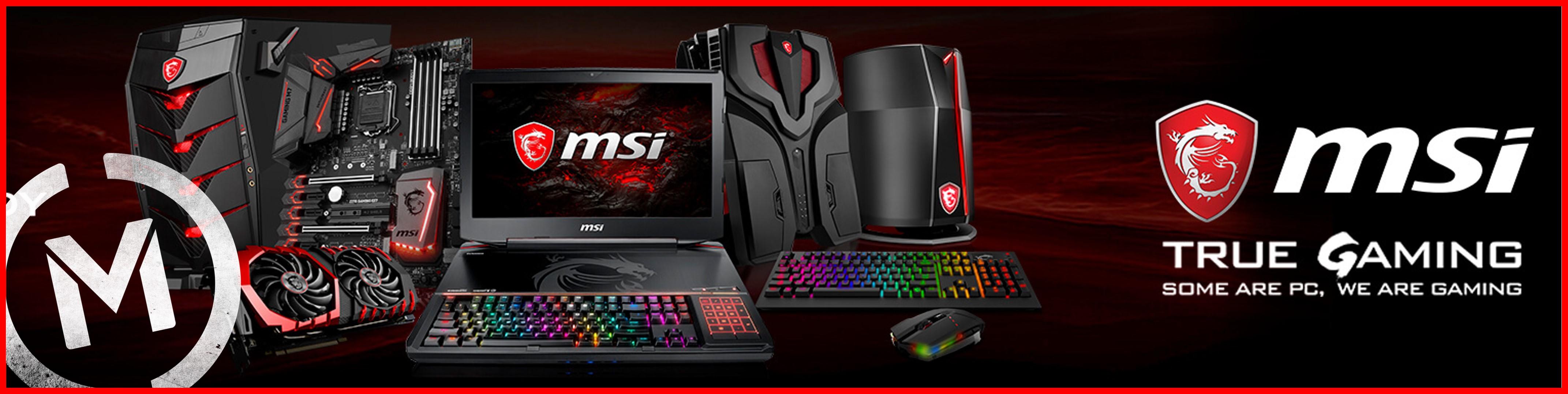 Matrix PC MSI Gaming Banner