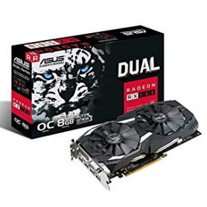 ASUS DUAL RADEON RX 580 8GB GRAPHICS CARD