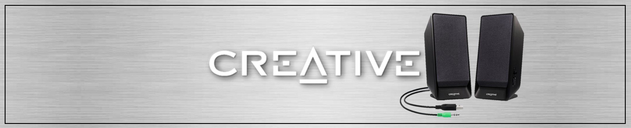 Creative PC Speakers Banner