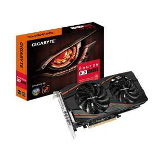 GIGABTYE RX580 4GB PC GRAPHICS CARD