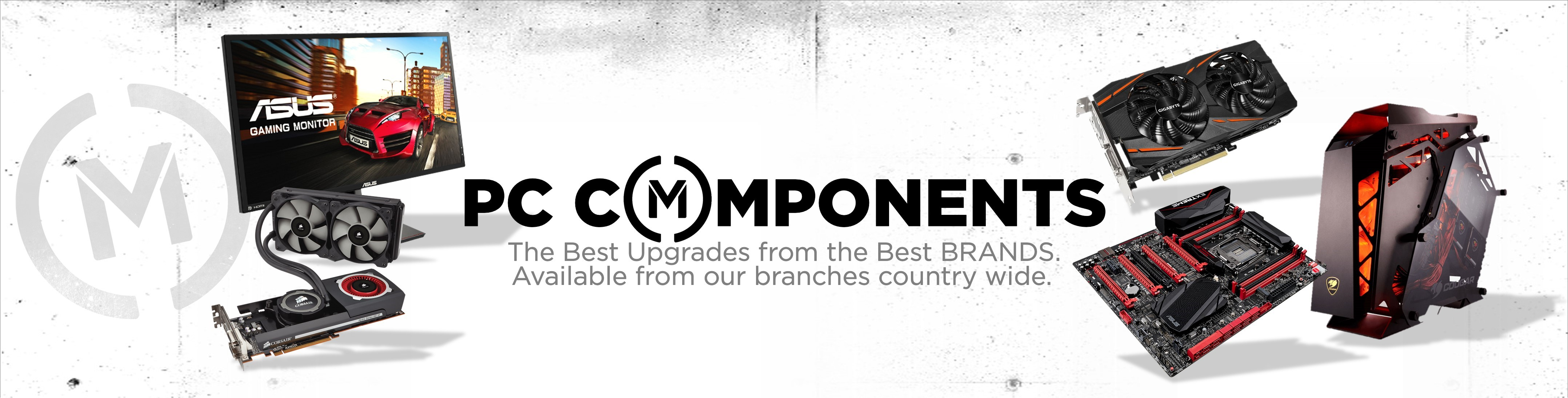 Matrix PC Components Banner