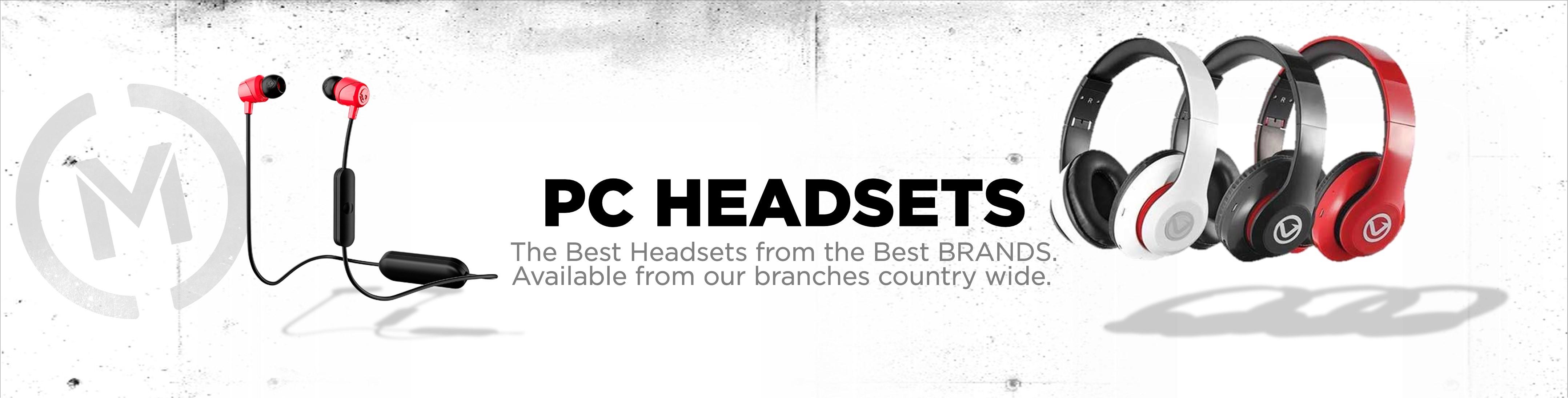 Matrix PC Headsets Banner