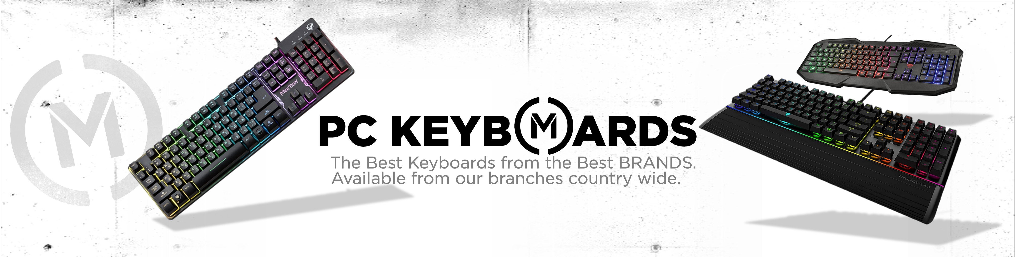 Matrix PC Keyboards Banner