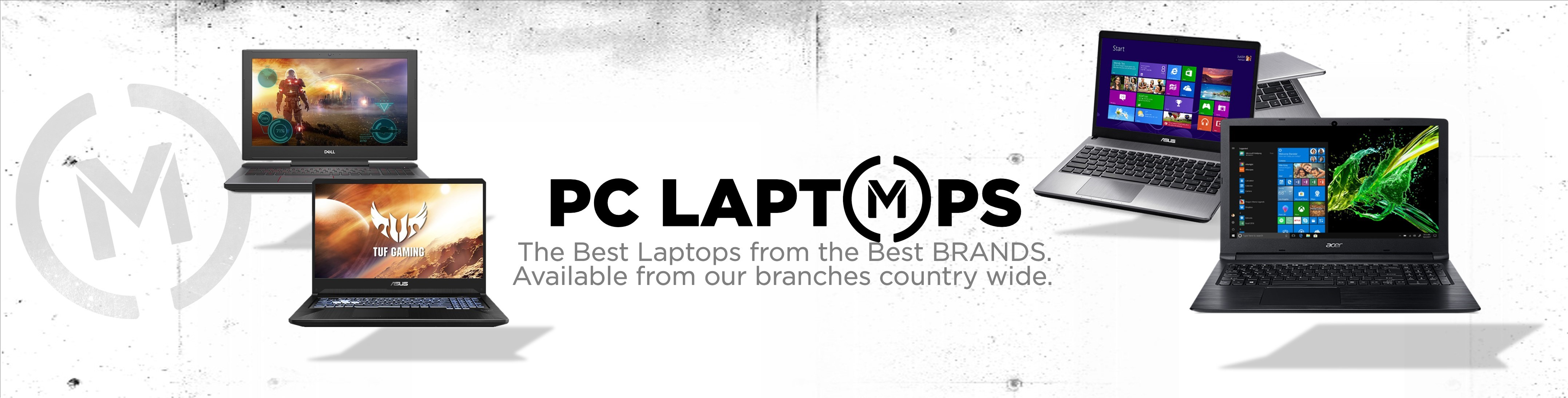 Matrix PC Laptops Banner