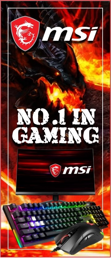MSI Gaming Keyboards, Headsets & Mouses