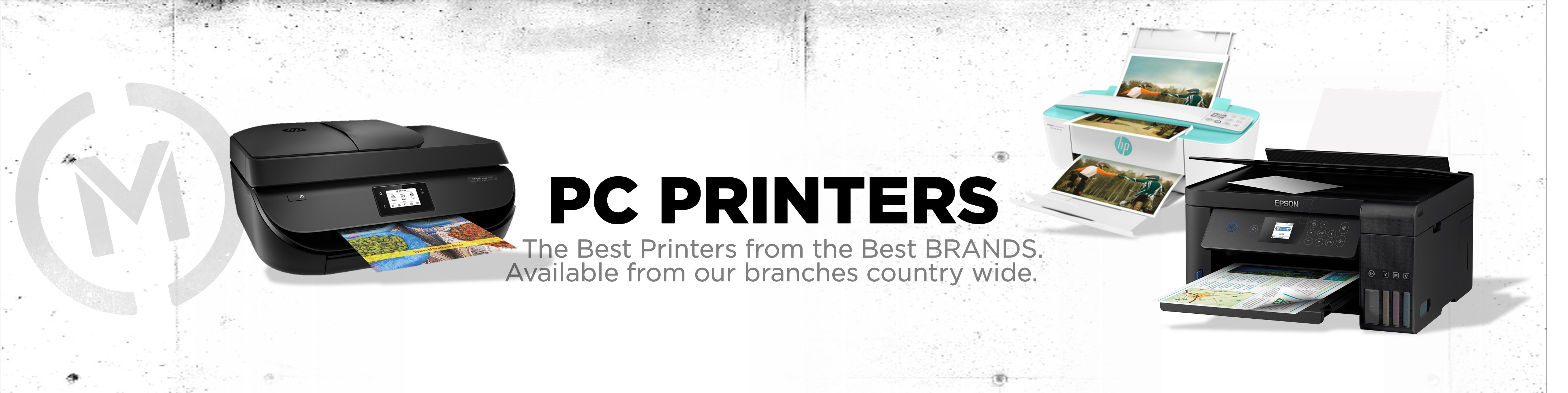 Matrix PC Printers Banner