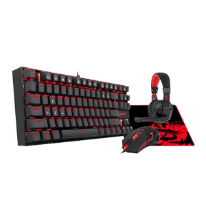 REDRAGON 4IN1 MECHANICAL GAMING COMBO 1