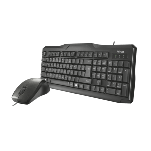 TRUST CLASSICLINE WIRED KEYBOARD & MOUSE COMBO 1