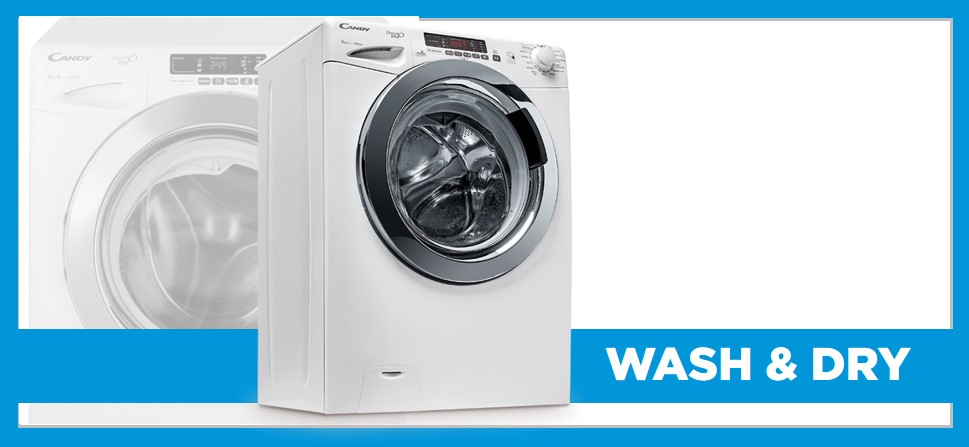 Candy Smart Wash & Dry Appliances