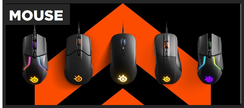 Steelseries Mouses