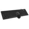 Economic Office Wired Mouse and Keyboard Combo