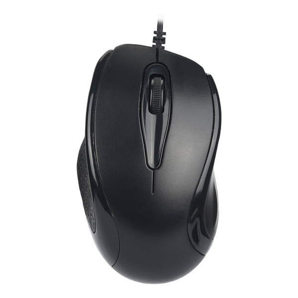 karbon boron wired mouse