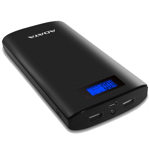 Adata Power Bank 20 000 MAH Black 1