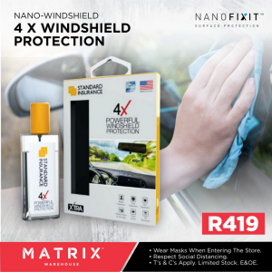 Nano Windshield Protection