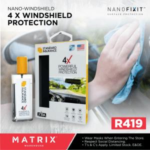 Nano Windshield Protection
