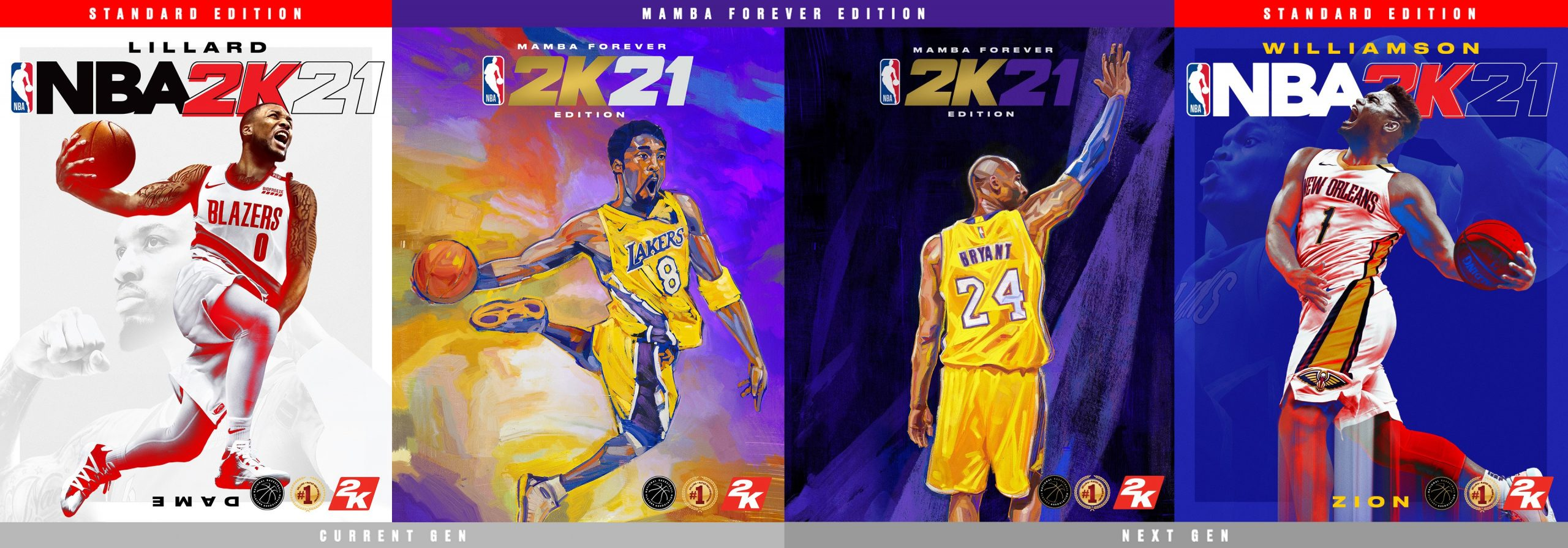 NBA 2K21 Game Release Cover Athletes