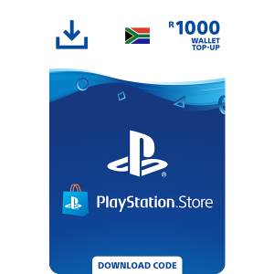 PlayStation Store Wallet Top Up - R1000