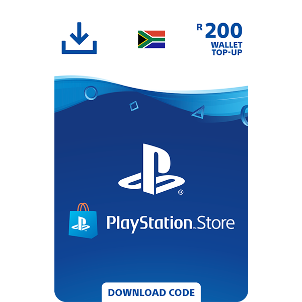 PlayStation Store Wallet Top Up - R200