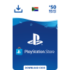 PlayStation Store Wallet Top Up - R50
