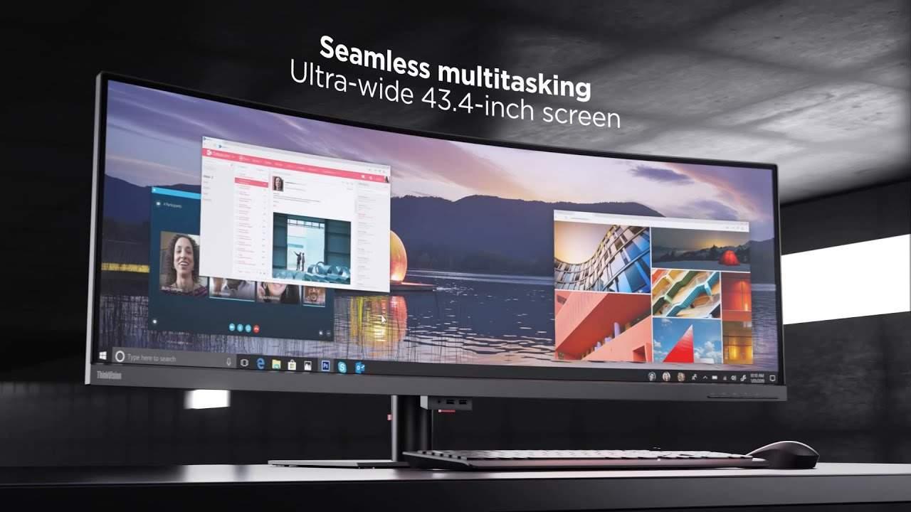 Lenovo ThinkVision P44w Monitor