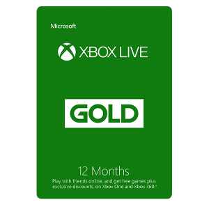 Xbox Live 12 Months Gold Membership