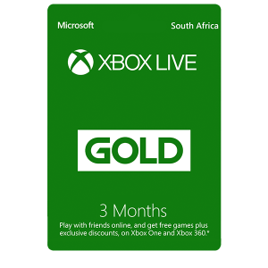 Xbox Live 3 Months Gold Membership