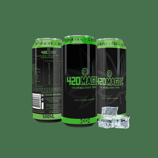 420 Magic Energy Drink 24 pack
