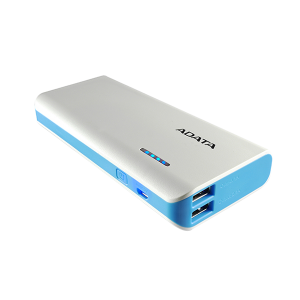 Adata Power Bank 10 000 MAH White & Blue