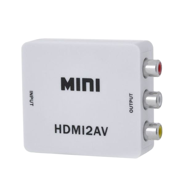 HDMI in to AV Out Converter