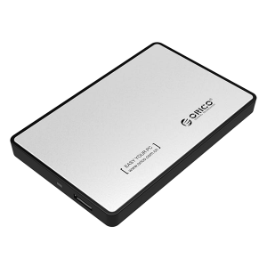 Orico External HDD Enclosure Silver