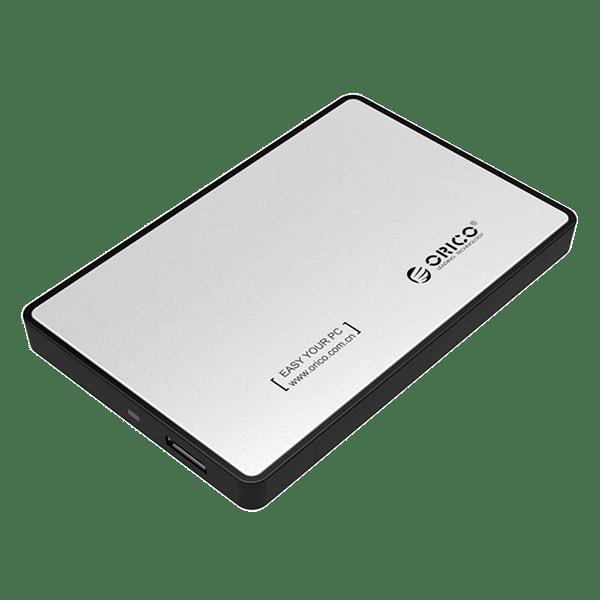 Orico External HDD Enclosure Silver
