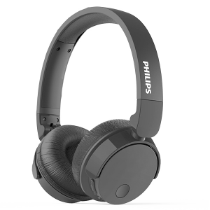 Philips Wireless On-Ear Headphone TABH305BK 1