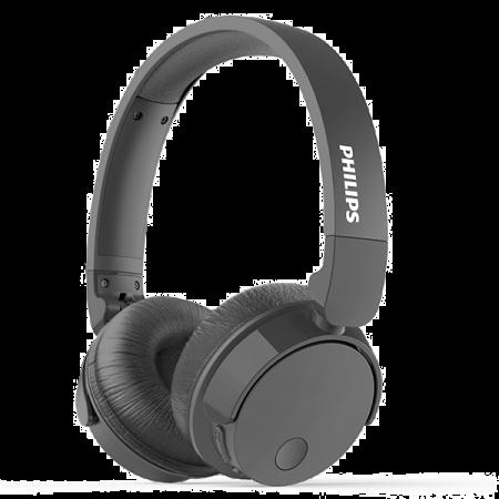 Philips Wireless On-Ear Headphone TABH305BK 1