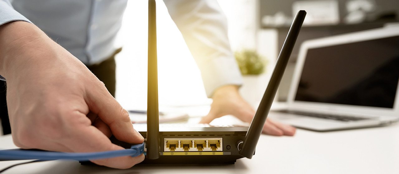 Installing a router