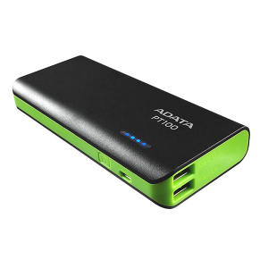 Adata Power Bank 10 000 MAH Black & Green