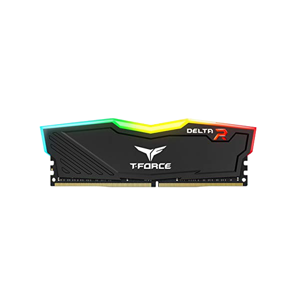 Delta RGB 8GB DDR4 Gaming Memory black