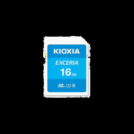 Kioxia 16GB 100Mb/s Micro SD Card C10 Exceria