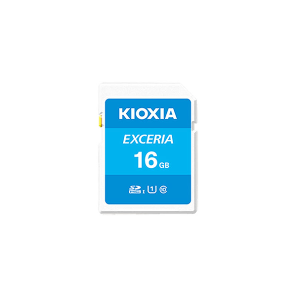 Kioxia 16GB 100Mb/s Micro SD Card C10 Exceria