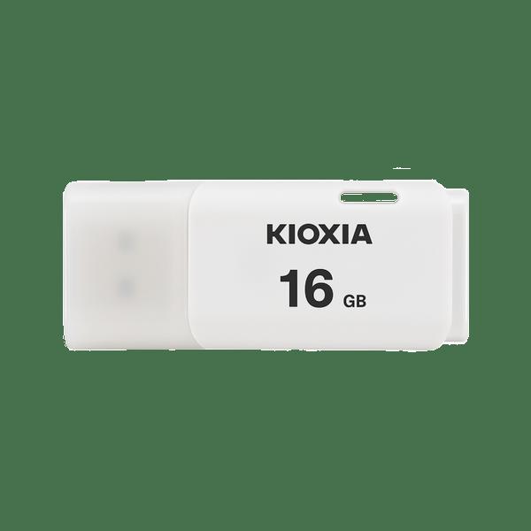 Kioxia 16GB 2.0 USB Works With Windows & Mac, White