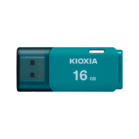 Kioxia 16GB 2.0 USB for Windows & Mac, Aqua