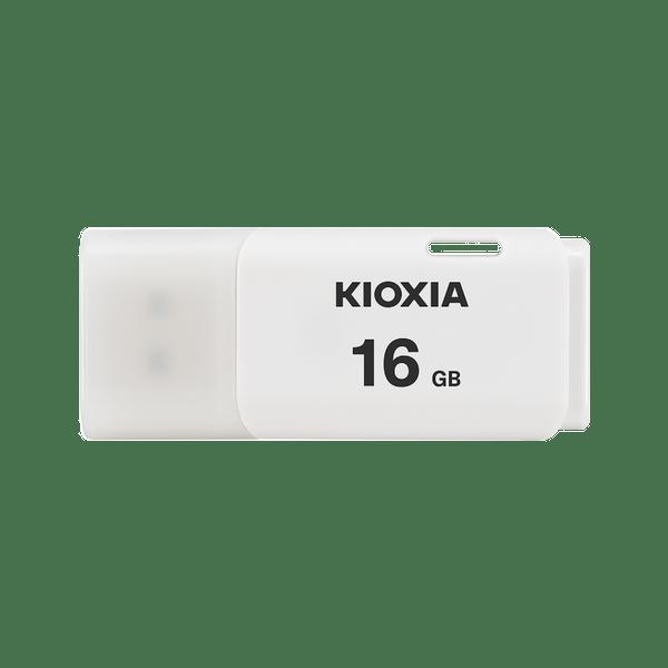 Kioxia 16GB 2.0 USB for Windows & Mac, White