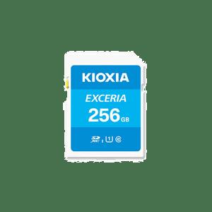 Kioxia 256GB 100Mb/s SD Card C10 Exceria Plus